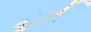 鳴門海峡の地図